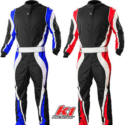 K1 - Speed1 Level 2 Pro Karting Suit - Kart Racing CIK-FIA Youth & Adult Sizes