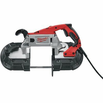 Milwaukee 6238-21 AC/DC Deep Cut Portable Two-Speed Band Saw with Case