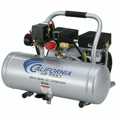 California Air Tools SP Ultra Quiet & Oil-Free 1-HP 2-Gallon Aluminum Tank Ho...