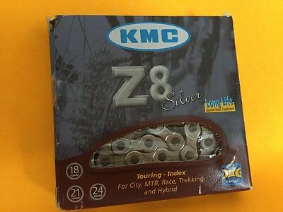 KMC Z8 7/8-Speed 116L Shimano HG Compatible Bicycle Chain NEW
