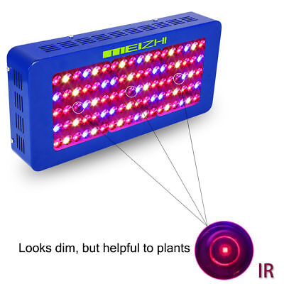 MEIZHI Reflector 450W LED Grow Light Full Spectrum Lamp With VEG BLOOM Switches