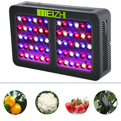 MEIZHI Reflector 300W LED Grow Light Hydroponics Full Spectrum VEG BLOOM Lamp
