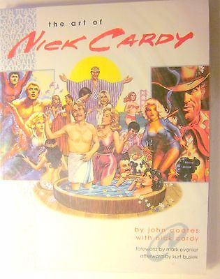 Vanguard (2001) THE ART OF NICK CARDY SC by John Coates (NM, 9.4 or better)