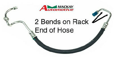 Mackay power steering hose Ford Falcon BA BF 6 CYL 2 Bends