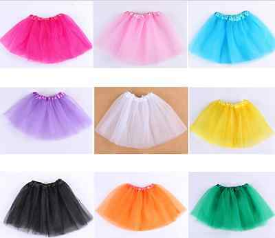 Girls Childrens Fancy Dress Tutu Skirt Childs Girls Ballet Party Dance