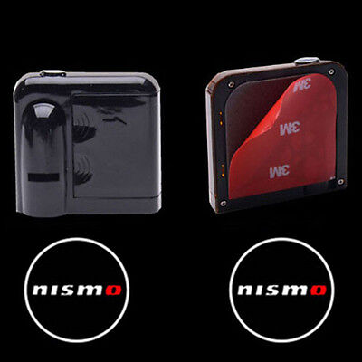 NISMO Wireless Car LED Door Projector Logo Ghost Shadow Laser Lights for NISSAN