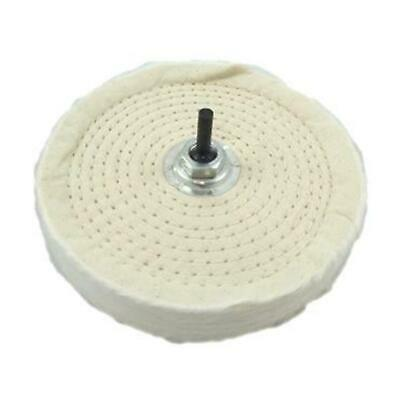 "6"" Inch 150mm Buffing Polishing Mop Wheel For Drill Bench Angle Grinder New"