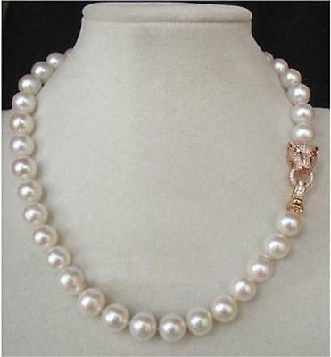 """20"""" 10-11Mm Aaa++ Genuine White South Sea Akoya Pearl Necklace"""