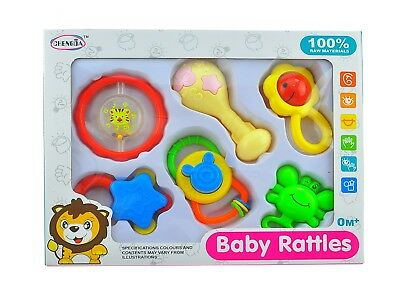 4pc Baby Rattles Baby Rattle Easy Grip, Baby Toy Baby Activity Toys 3 M+