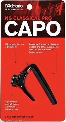 Planet Waves Ns Capo For Nylon String Classical Guitar - Black Pw-Cp-04
