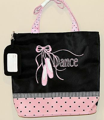 Sassi Bags BAL-04 Ballet Tote Embroidered Microfiber