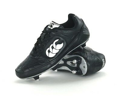 Canterbury Ethos Iii Club 6-Stud - Junior Rugby Boots - E22236 989 - Black - New