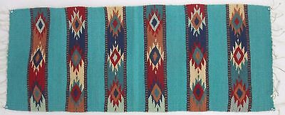 Zapotec 100% wool hand woven 15½ x 40 inch Wall hanging or Table Runner List $98