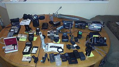 Super Deal !ESTATE SALE CAMERAS & CAMCORDERS SOLD AS IS!
