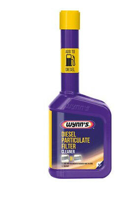 Wynn's DPF Diesel Particulate Filter Cleaner regenerates the particulate filter