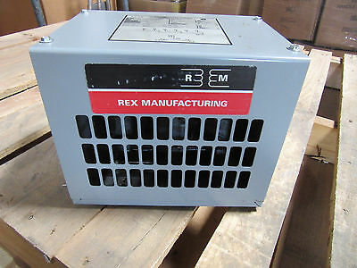 Rex Mfg R4.5JH-SP Transformer 4.5 KVA Auto 3-Phase NEW!!!