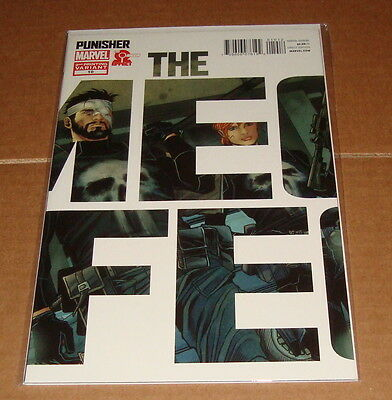 The Punisher #10 2nd Variant Edition Omega Effect