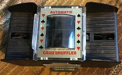 Casino 4 Deck Card Shuffler Automatic Playing Cards Office Equipment