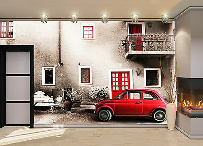 Old Italy, Small Car Wall Mural Photo Wallpaper GIANT DECOR Paper Poster