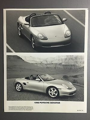 1998 Porsche Boxster Roadster B&W Press PCNA Issued Photo RARE!! Awesome L@@K