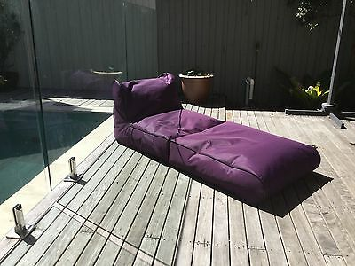 Relaxious Sofa Bean Bag Couch Indoor Outdoor Water Resistant Lounger Relax