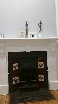 Fireplace Surround + Mantle