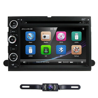 Car Stereo DVD Player GPS Radio MultiMedia for Ford F150 F350 F650 Mustang Edge