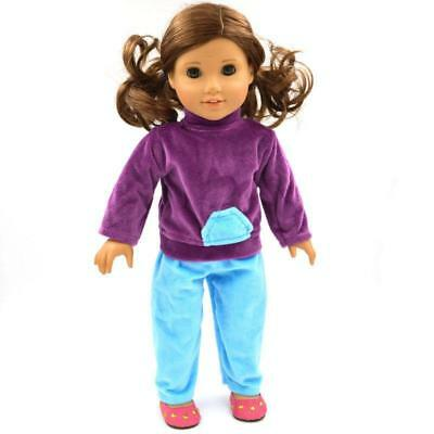 """Handmade Top Pants for American Girl Journey Our Generation 18"""" Doll Clothes"""