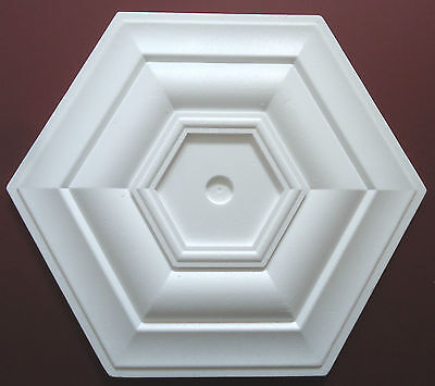 Ceiling Rose Size 500mm - 'Kensington1' Lightweight Polystyrene Easy To Apply