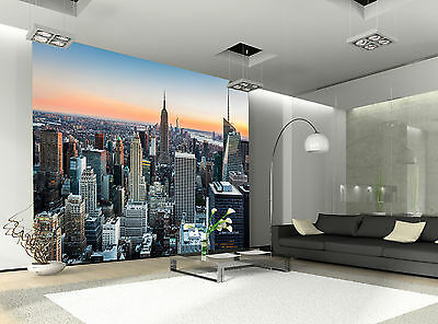 New York Wall Mural Photo Wallpaper GIANT DECOR Paper Poster Free Paste