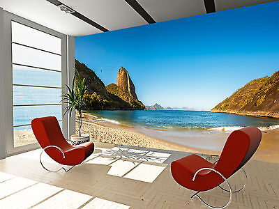 Beaches Panorama Wall Mural Photo Wallpaper GIANT DECOR Paper Poster Free Paste