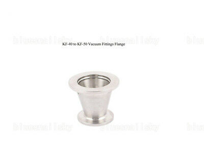 US NEW KF-40 to KF-50 Vacuum Fittings Flange Size NW-40 to NW-50 Reducer Conical
