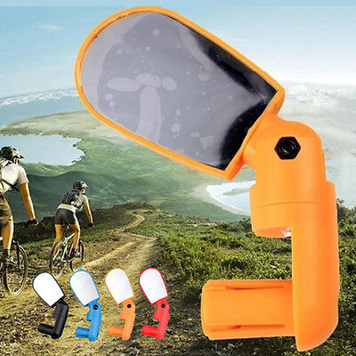 Safety Back End Rearview Mirror Multi-Angle Rear Cycling Bike Rotate Vivew