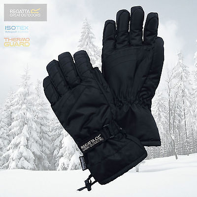Regatta Men's Igniter Thermal Insulated Waterproof Gloves - Black - New