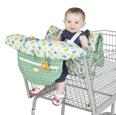 Nuby Shopping Cart and High Chair Cover Universal Size Adjustable Safety Stra...