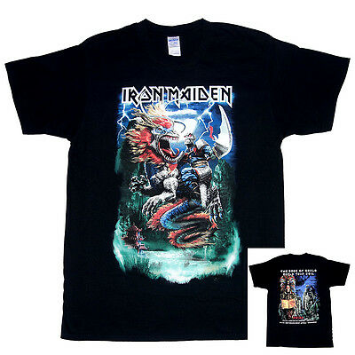 Iron Maiden China Event Shirt (Dated) M/L/XL/XXL The Book of Souls Tour 2016