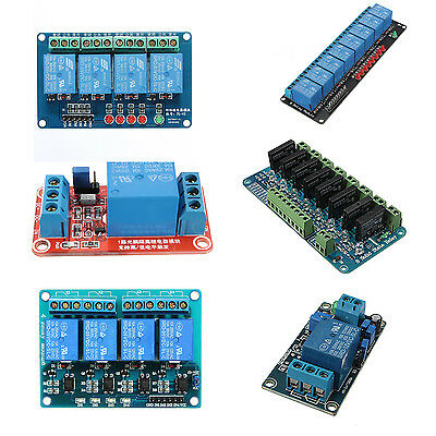 5V 8 Channel Solid State Relay Module Board OMRON SSR April DSP Arduino DP