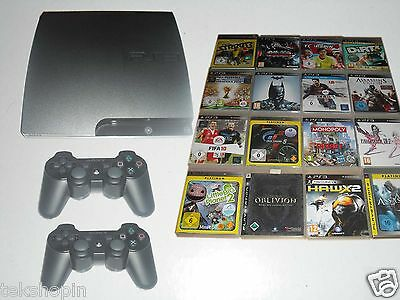 Sony PS3 Konsole + 1-2 Controller + HDMI - Playstation 3 ( 12-500GB )