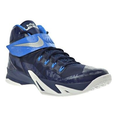 fc7b1e7505989 Nike Men s Basketball Shoes Soldier VIII TB Zoom Lebron 653648 405 Navy  Blue 18