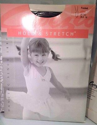 Capezio HOLD & STRETCH dance tights Footed #14C TOT/SMALL/MED/LARGE = ALL SIZES