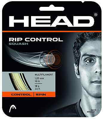 Head Rip Control Squash String 18 / 1.20mm - White **NEW FROM HEAD**
