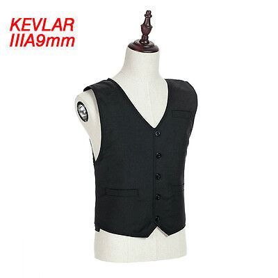 Hot Body Armor Vest ⅢA Bullet Proof Concealable Stab Resistant Protective Jacket