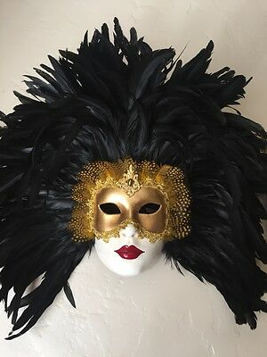 Amazing Authentic Hand Made Venetian Mask from Barcelona