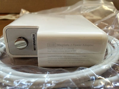 85w Genuine Original Apple MacBook Air MagSafe 2 AC Power Supply Charger Adapter
