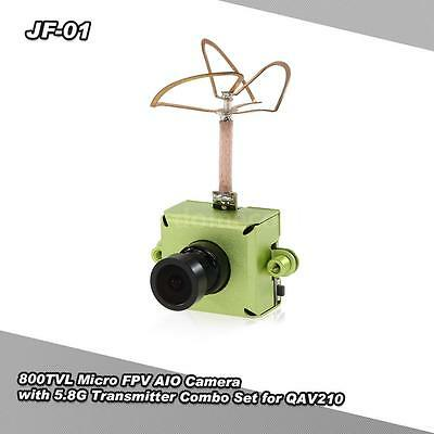 JF-01 800TVL CMOS Micro FPV AIO Camera with 5.8G Video Transmitter Combo H6E7