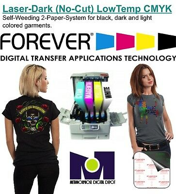 Heat Transfer Paper Forever For Laser Printer Dark and Light T Shirts 50 sh A+B