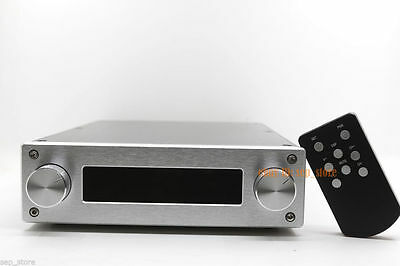 Finished HIFI Remote volume Controller 128 steps /4 way input + display