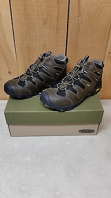 4fa9f13c471 KEEN YOUTH BOYS Koven Mid Waterproof Hiking Boot - Cascade Brown/Black Ast  Sizes