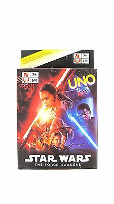 Star Wars UNO CARDS Family Fun Playing Card Educational Theme Board Game