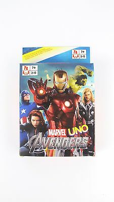 Iron Man UNO CARDS Family Fun Playing Card Educational Theme Board Game